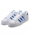 Кроссовки Adidas SuperStar White/Hologram Blue