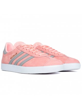 Кроссовки Adidas Gazelle Gently Pink/Grey