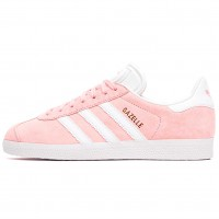 Кроссовки Adidas Gazelle Lightly Pink/White