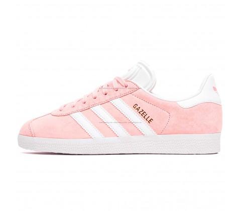 Кроссовки Adidas Gazelle Lightly Pink/White