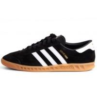 Кроссовки Adidas Originals Hamburg Core Black/White/Gum