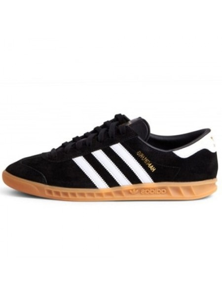 Кроссовки Adidas Originals Hamburg Core Black/White/Gum