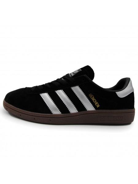 Кроссовки Adidas Munchen Core Black/Grey