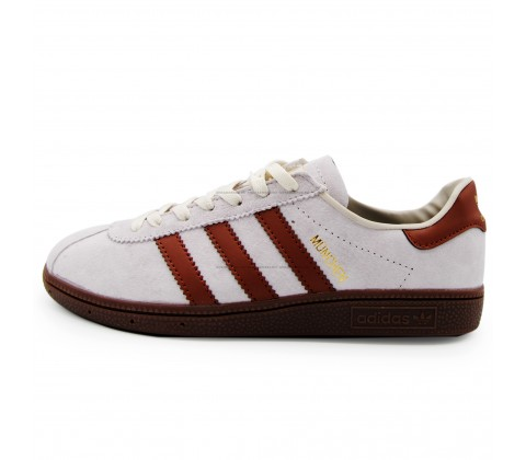 Кроссовки Adidas Munchen Gray/Brown