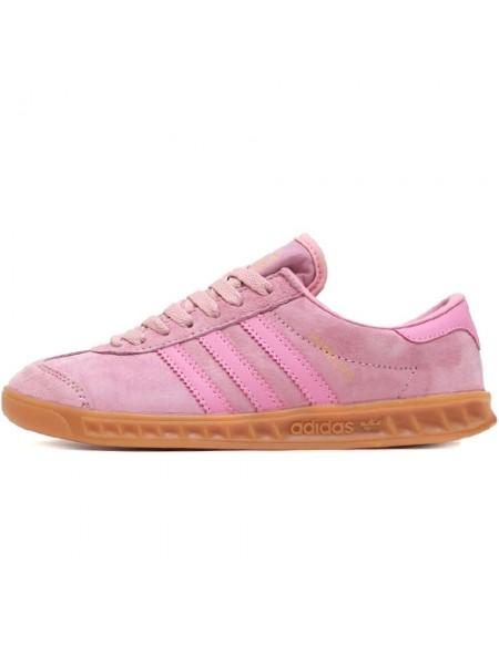 Кроссовки Adidas Hamburg Suede Pink