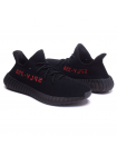 Кроссовки Adidas Yeezy Boost 350 V2 by Kanye West Core Black/Red On/Core Black