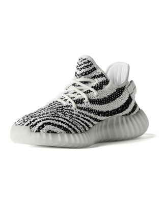 Кроссовки Adidas Yeezy Boost 350 V2 by Kanye West Core White/Black-Red
