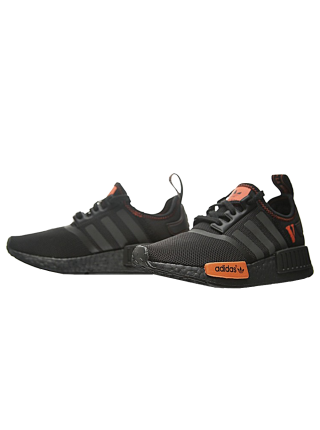 Кроссовки Adidas NMD XR1 x Vlone Black/Orange