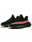 Кроссовки Adidas Yeezy Boost Sply 350 V2 Black/Solar Red