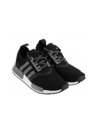Кроссовки Adidas NMD R1 Primeknit Black/Grey