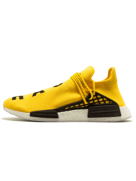 Кроссовки Pharrell Williams x Adidas NMD Human Race Yellow