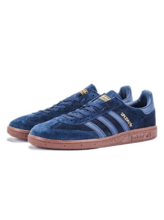 "Кроссовки Adidas Spezial ""Gum Pack"" Deep Blue/Deep Blue/Gum"