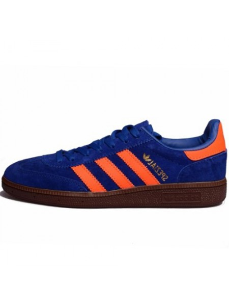 Кроссовки Adidas Spezial Blue/Orange