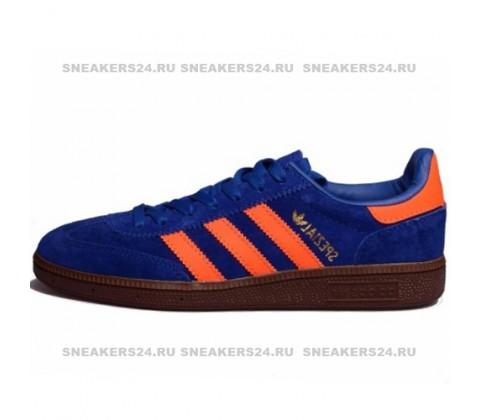 Кроссовки Adidas Spezial Blue/Orange