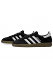 Кроссовки Adidas Spezial Dark Black/White