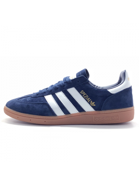 Кроссовки Adidas Spezial Dark Blue/White