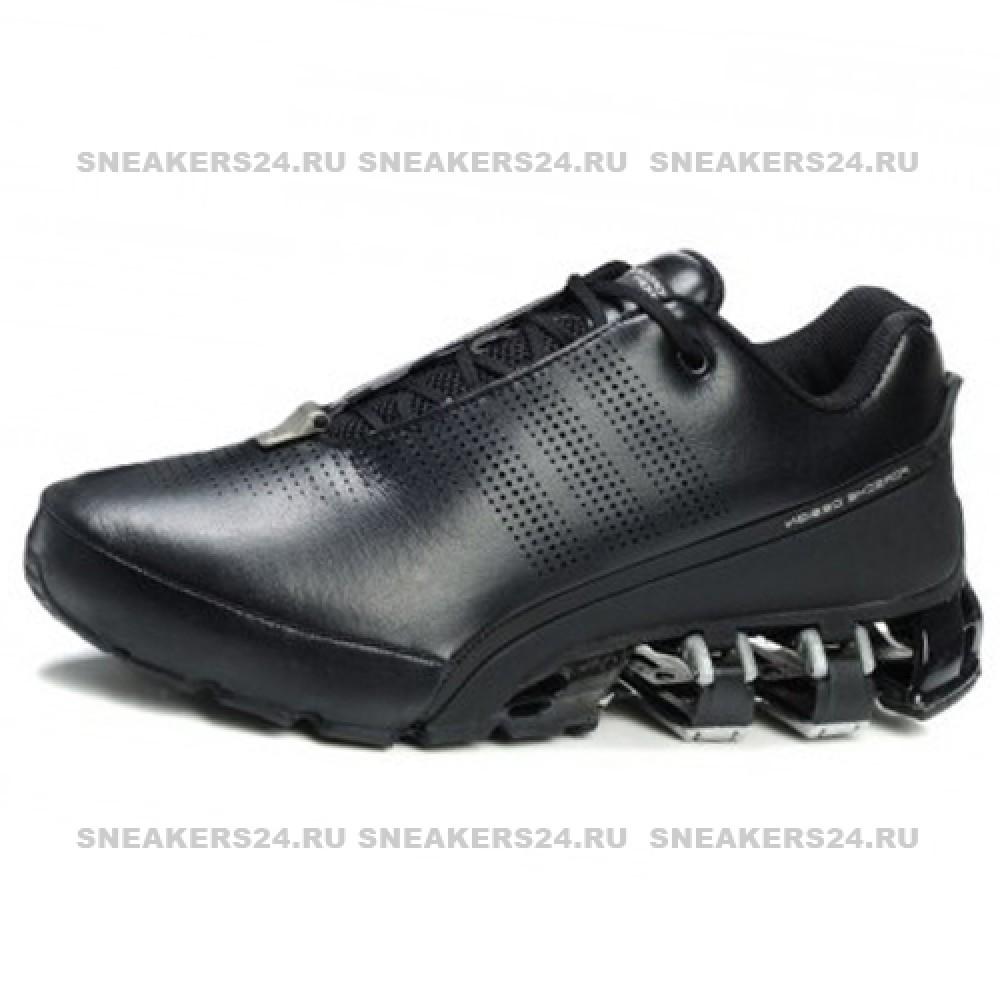 c67421b0 Кроссовки Adidas Porsche Design Black/White Leather One