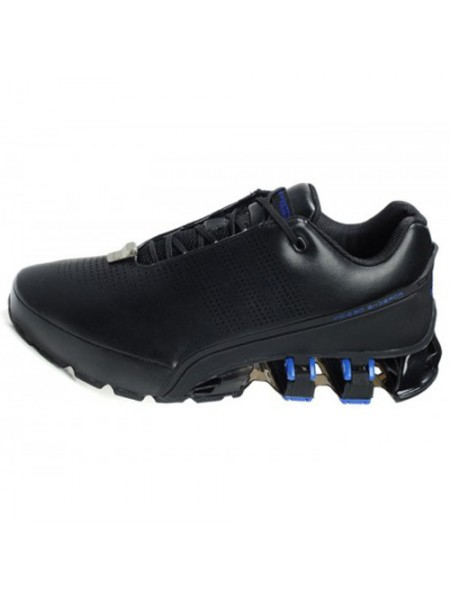 Кроссовки Adidas Porsche Design P5000 Leather Black/Blue
