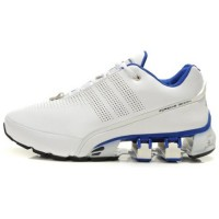 Кроссовки Adidas Porsche Design P5000 Leather White/Blue