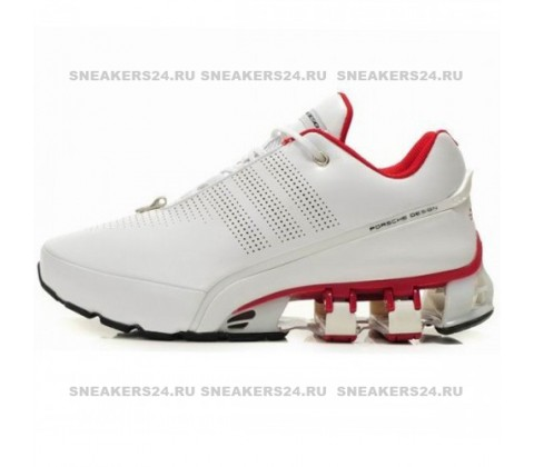 Кроссовки Adidas Porsche Design Run Bounce White/Red