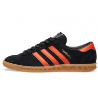 Кроссовки Adidas Hamburg Brussels Core Black/Orange