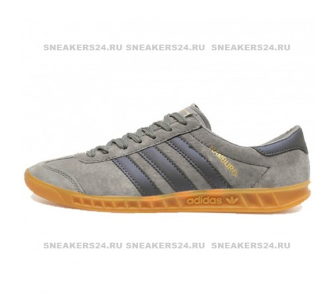 Кроссовки Adidas Hamburg Original Double Grey