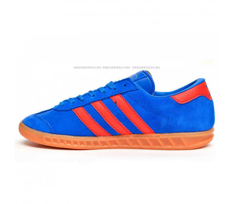 Кроссовки Adidas Hamburg Original Blue/Orange
