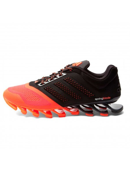Кроссовки Adidas Springblade Black/Orange