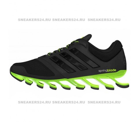 Кроссовки Adidas Springblade Insect Black/Green