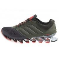 Кроссовки Adidas Springblade Khaki/Black
