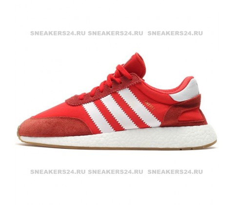 Кроссовки Adidas Iniki Runner Red/White