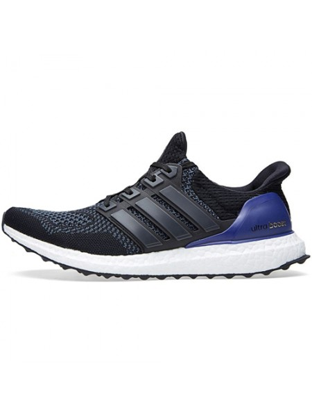 Кроссовки Adidas Ultra Boost Black/Blue