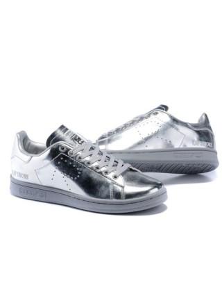 Кроссовки Adidas x Raf Simons Stan Smith Silver