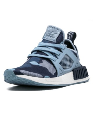 Кроссовки Adidas NMD_XR1  Light blue/Camouflage