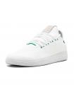 Кроссовки Adidas Pharrell Williams Tennis Hu White/Green Glow