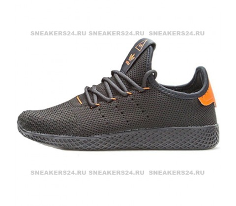 Кроссовки Adidas Pharrell Williams Tennis Hu Black/Orange