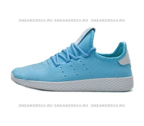 Кроссовки Adidas Pharrell Williams Tennis Hu Light Blue