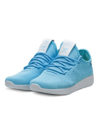 Кроссовки Adidas Pharrell Williams Tennis Hu Light Blue