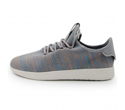 Кроссовки Adidas Pharrell Williams Tennis Hu Men's Shoes Color Blue/Pink/Light Grey