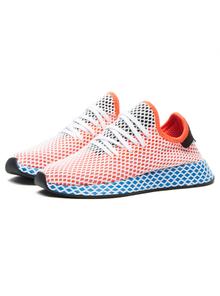 Кроссовки Adidas Deerupt Runner Orange/Blue