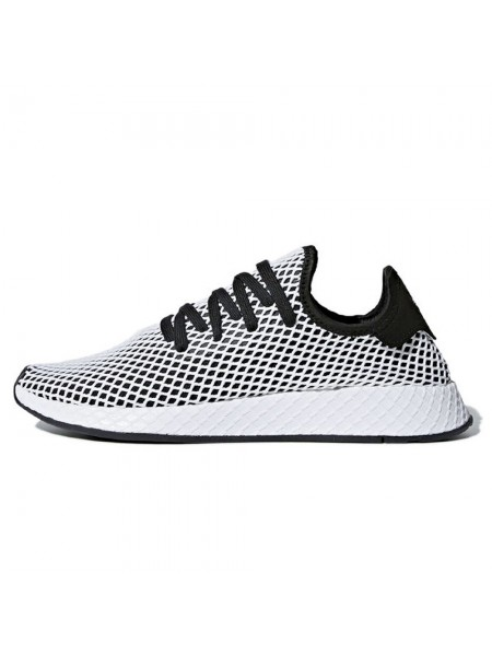Кроссовки Adidas Deerupt Runner Black/White