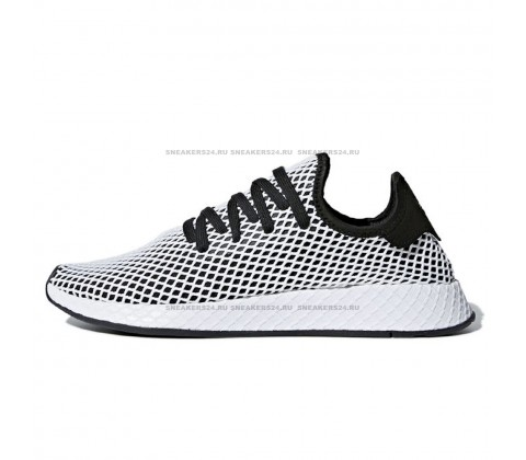 Кроссовки Adidas Deerupt Runner Black/White