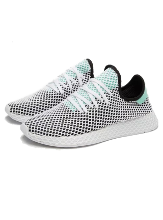 Кроссовки Adidas Deerupt Runner Black/Green