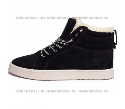 Кроссовки Adidas Ransom Black With Fur