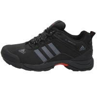 Кроссовки Adidas Terrex Climaproof Low Black/Silver With Fur