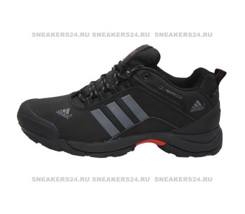 Кроссовки Adidas Terrex Climaproof Low Black/Silver With Fur
