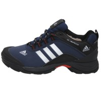 Кроссовки Adidas Terrex Climaproof Low Blue/Black With Fur