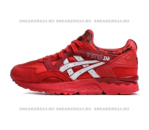 Кроссовки Asics Gel Lyte V Valentines Day Red