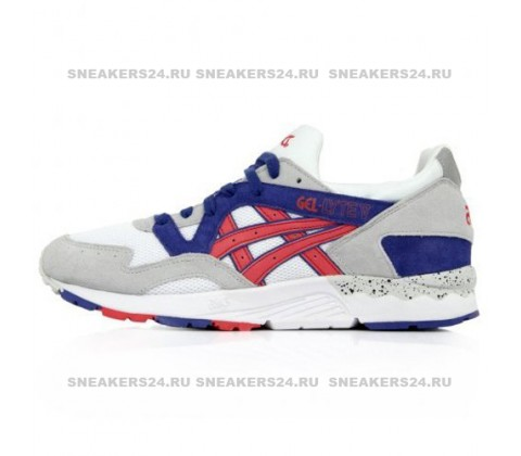 Кроссовки Asics Gel Lyte V Grey/Fiery Red