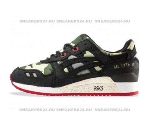 Кроссовки Asics Gel Lyte III Black/Camouflage